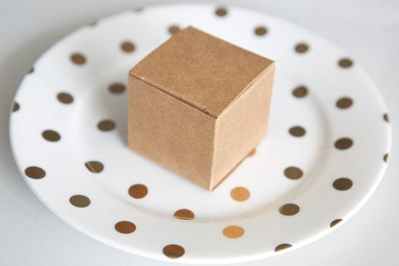 Kraft bonbonerie favour boxes || wedding engagement