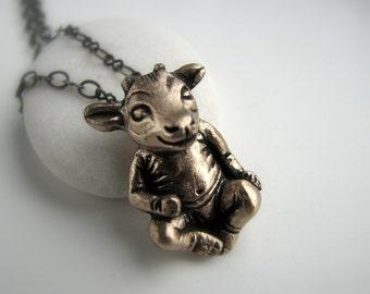Little devil supernatural goat baby demon