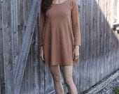 Organic Short Swing Dress- Hemp Organic Cotton Jersey Fabric