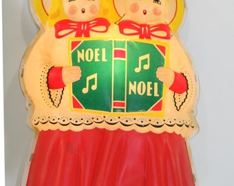 Vintage Lighted Christmas Carolers