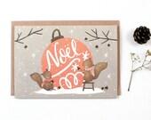 Christmas Card - Noel - Greeting Card