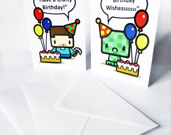 Crafty Gamers - Birthday Cards
