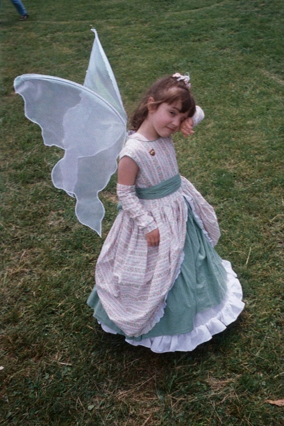 Light Honey Gold Pixie FAIRY Wings adult s Child l Halloween