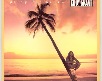 Eddy Grant, Going For Broke, Vintage Vinyl Record Album, Portrait / Ice LP, Reggae - Funk  Caribbean Music
