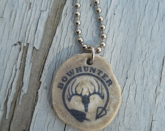 Bowhunter Antler Necklace