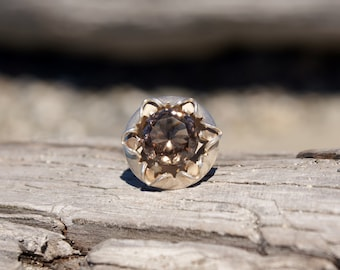 Taxco Topaz Statement Boho Ring-Mod Ring