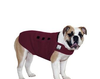 VIZSLA Tummy Warmer Dog Coat Fleece Dog Coat by VoyagersK9Apparel