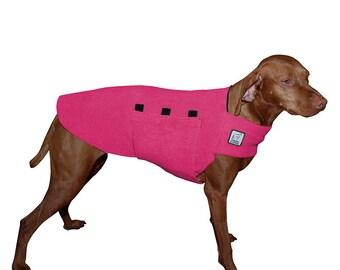 VIZSLA Tummy Warmer, Dog Coat, Fleece Dog Coat, Dog Sweater