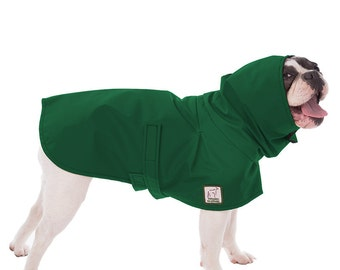 FRENCH BULLDOG Rain Coat, Dog Raincoat, Waterproof Dog Coat, Rain Jacket for Dogs, Spring Jacket, Windbreaker, Bull Dog Clothes, Accessories