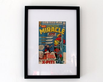 Vintage Comic Cover Framed - Mr Miracle