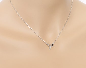 Yes Necklace Sterling Silver Birthday Marriage Proposal Weddings