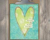 Christian Gift, Scripture art, Sweet Peace, Christian art print