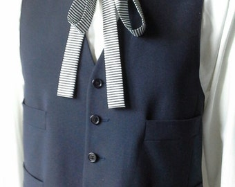 Skinny Tie, self tie, ships worldwide from Bagzetoile, France