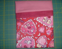 Peanuts Love Pillowcase Kit DIY FREE SHIPPING