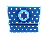 Hanukkah Gift Card Holder, Gift Card Envelope, Gift Card Box, Money Holder- Dots