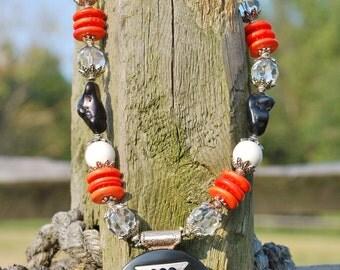 Western Christian Cowgirl Handmade Artisan Maltese Cross Necklace