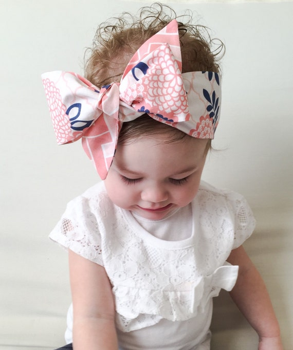 Items Similar To Baby Headwrap Baby Head Wrap Coral