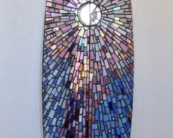 Infinite Possibilities mosaic surfboard