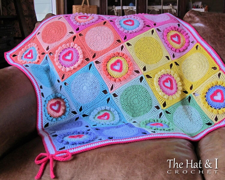 Crochet pattern follow your heart a crochet heart afghan zoom bankloansurffo Choice Image