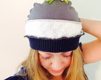 Seahawks cap hat upcycled 12th man by HopeFloats