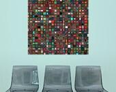 Geometric Art Sticker Decal - Mosaic by Lyle Hatch