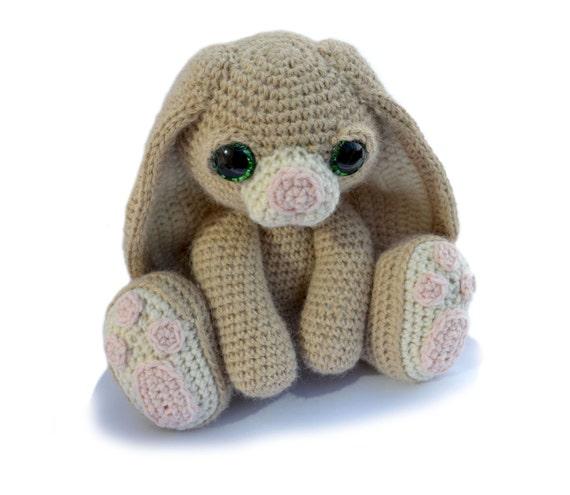 Bunny Rabbit Amigurumi Crochet Pattern PDF Instant Download - Benedict