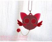 MASHA Tokyo Mew Mew Inspired Acrylic Necklace for Mahou Kei, Magical Girl Fashion