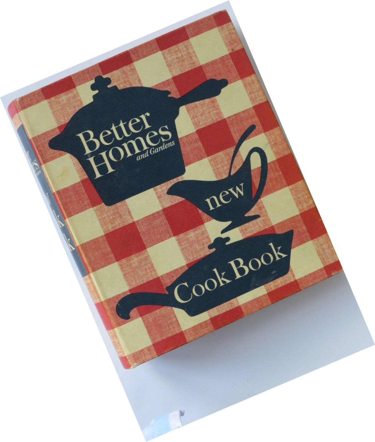 Vintage Better Homes And Gardens New Cookbook 1965 Hardcover