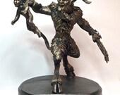 Krampus Statue III, Bronze Finish