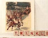 Vintage Letter Cubes TWINKLE