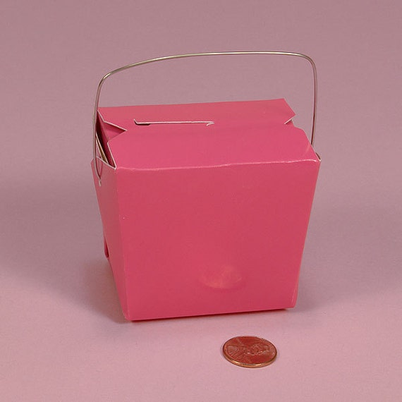 Party Favor Chinese Take Out Boxes : Ct pink chinese take out boxes left overs party favors
