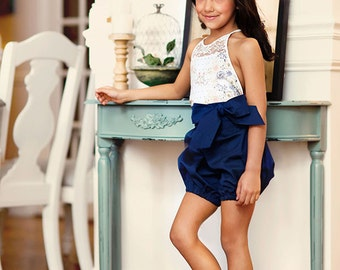 Haven Romper and Dress PDF Pattern & Tutorial, All sizes 6M-10 years included