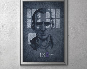 IX - Doctor Who - Christopher Eccleston as The Ninth Doctor - I'm The Doctor Series - Original Art Poster