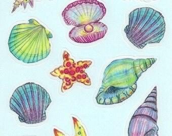 LeBayBay Sea Fun Sticker Set
