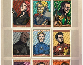 Choose One - Avengers Small 4x6 Prints