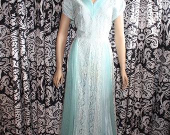 1950's Patricia Special Occasion Gown  Item # 134-FG
