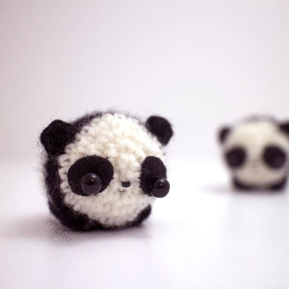Kawaii Panda Amigurumi : crochet panda amigurumi kawaii panda bear plush by mohustore