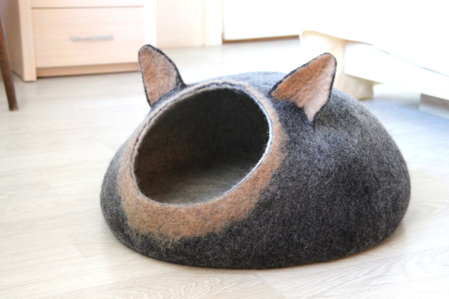 Pets Bed Dog Bed Dog Cave Small Dog House Made By Agnesfelt
