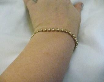 Vintage Diamond Rhinestone Bracelet
