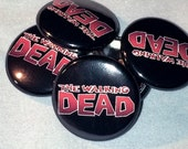 The Walking Dead | Comic Logo | 1-inch Buttons |