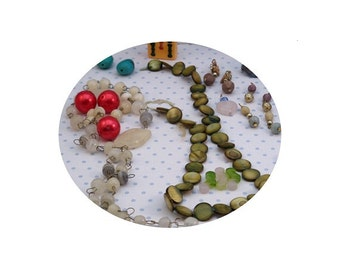 UPDATED DESTASH Beads Supplies Perfect for Jewelry Crafts Decorating - Lot 1a
