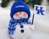 University of Kentucky Snowman Ornament