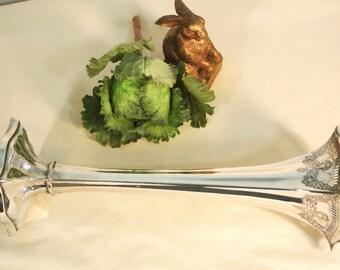 Meriden Silver Plate Co. Trumpet Vase