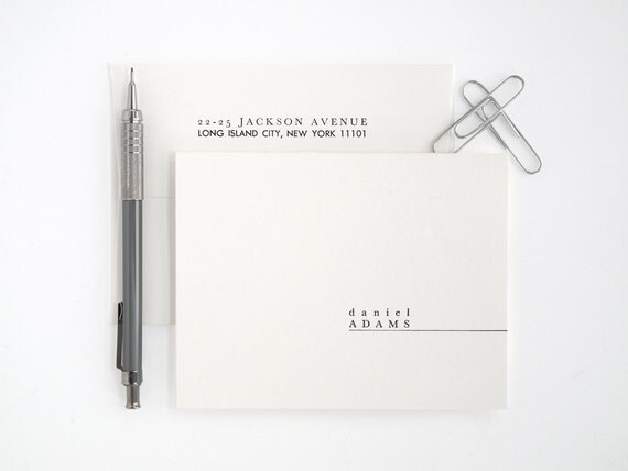 how to make your own stationery set