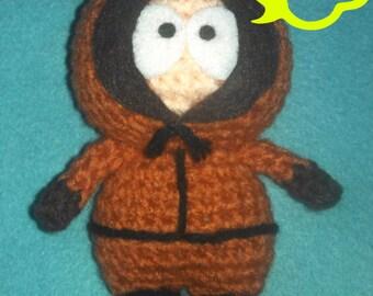 PATTERN: Crochet Amigurumi South Park Kenny McCormick