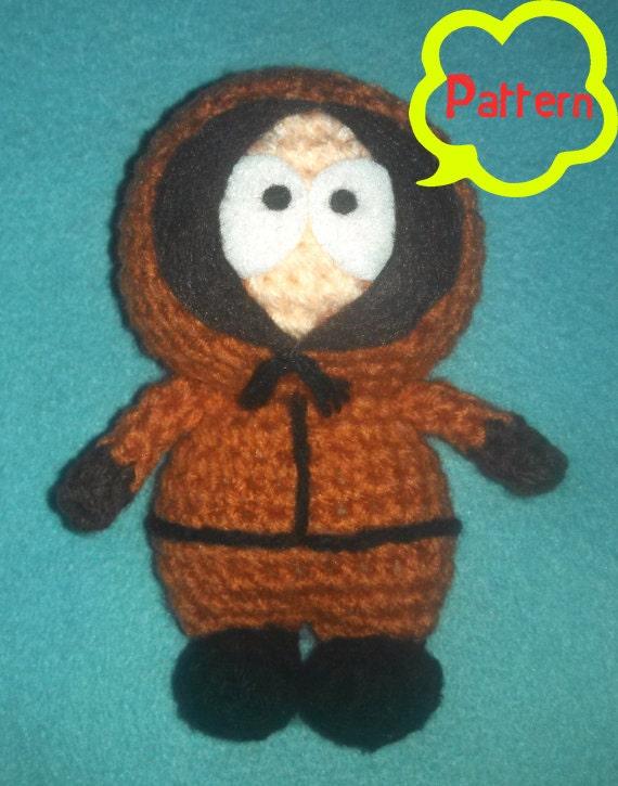 Amigurumi Cartman : PATTERN: Crochet Amigurumi South Park Kenny McCormick