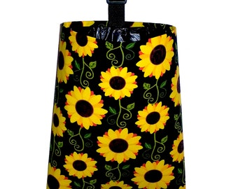 Car Trash Bag - Sunflowers