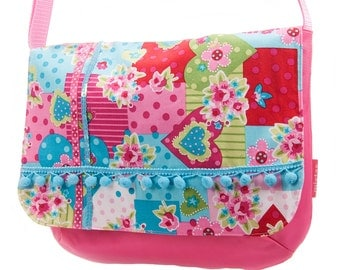 messenger bag for school girls: spring