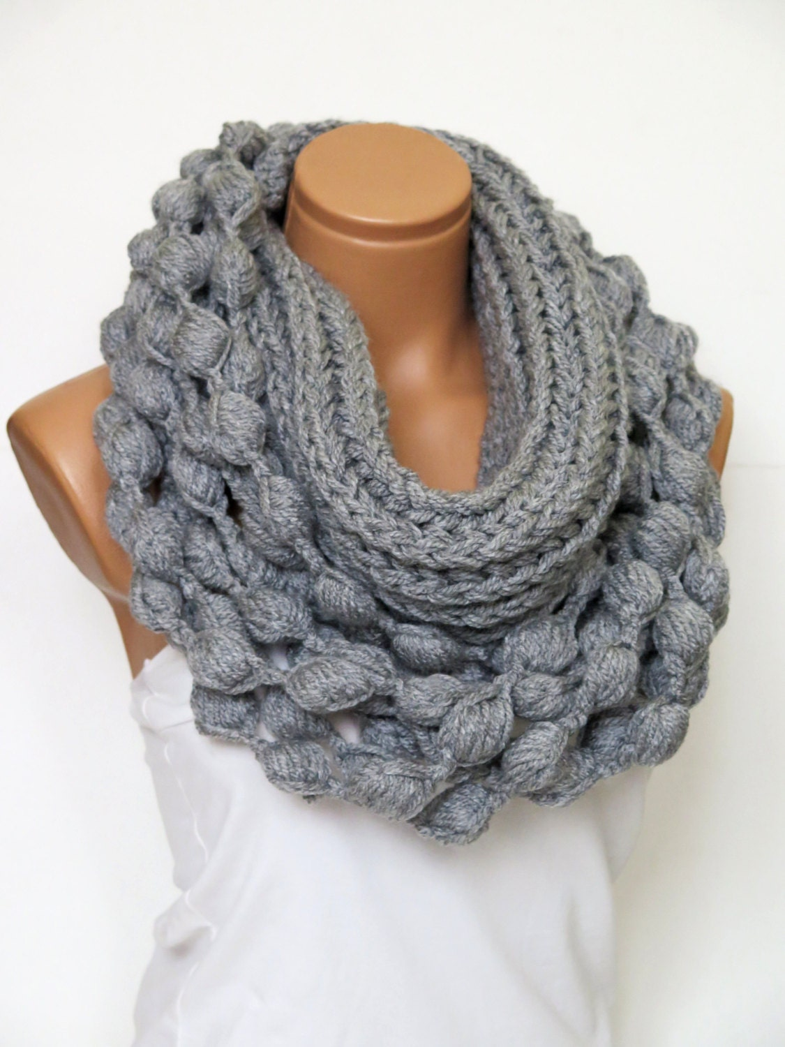 Find great deals on eBay for grey infinity scarf. Shop with confidence.