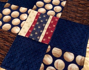 Vintage Baseball Blanket By Klbaby On Etsy